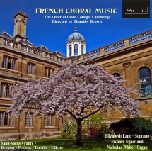 CDE 84370 FRENCH CHORAL MUSIC Saint Sa�ns, Faur�, Debussey, Drufl�, Villette