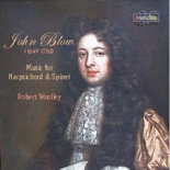CDE 84464 John Blow Harpsichord Music - Robert Woolley