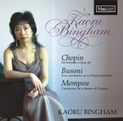 CDE 84476 CHOPIN, Preludes, Variations on a Chopin Prelude, Variations on a Theme of Chopin.