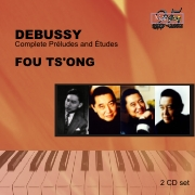 CDE 84483/4-2 DEBUSSY, Complete Préludes and Études : Fou Ts'ong