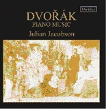 CDE 84521 Dvorak Piano Music - Julian Jacobson