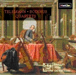 CDE 84523 Telemann and Bodinus Quartets - The Musicians of the Old Post Road