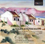CDE84602 Allan Stephenson Bass Concerto, Burlesque for Double bass, Cello Concerto
