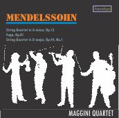 Mendelssohn String Quartets vol. 2