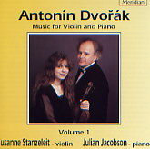 CDE84274 Dvorak Violin and Piano Music vol. 1